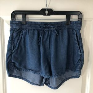NWOT AERIE Comfy/Lounge Jean Shorts